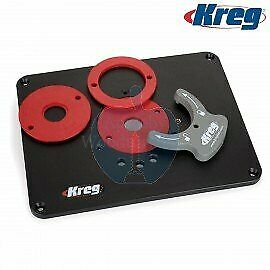 Kreg PRS4036 Precision Router Table Insert Plate With Level-Loc Rings (Pre-dr...