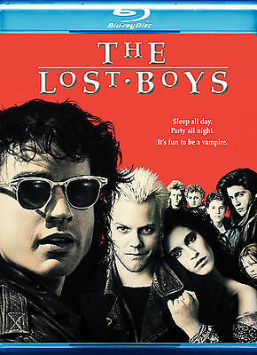 The Lost Boys (Blu-ray Disc, 2008, Special Edition) Kiefer Sutherland Horror New