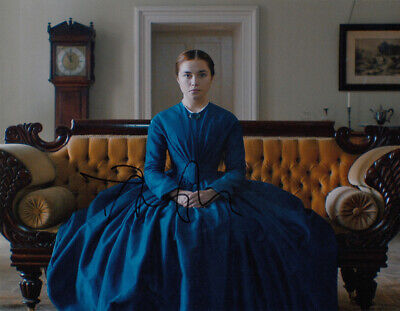 Florence Pugh authentic signed Lady Macbeth 10x8 photo AFTAL & UACC [15846] COA
