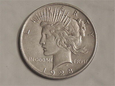 1923    Peace Silver Dollar Brilliant Uncirculated  Coin Amazing!