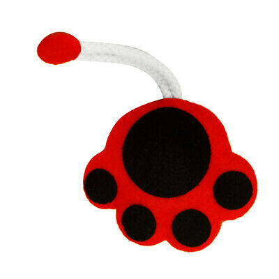 Cat Paw Key Holder Case Non-woven Fabric Felt Applique Kits for DIY Craft
