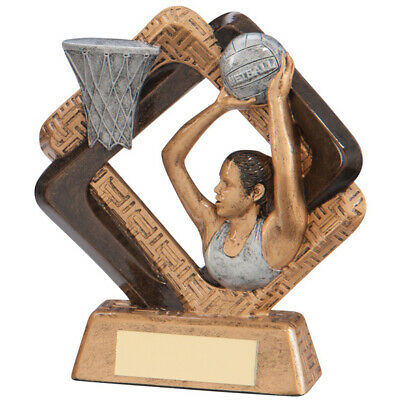 Netball Trophy Award 165mm Sporting Unity FREE Engraving