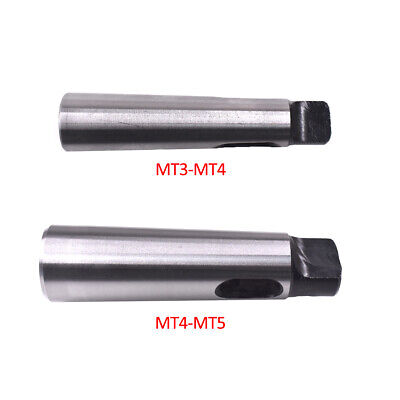 2pcs Set MT3-MT4 MT4-MT5 Morse Taper Adapter Reducing Drill Chuck Sleeve