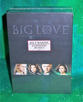New Hbo Big Love Seasons 1-5 Complete Series 63 Episodes Tv 20 Disc Dvd Set