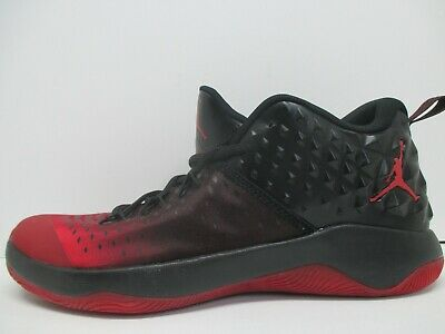 34b69f4ab17 NEW - NIKE Jordan Extra Fly Basketball Shoes - Red Black - 854551 610 - Sz