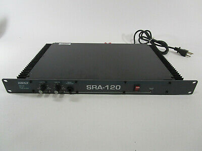 Ashly SRA-120 Stereo Power Amplifier Amp untested please read