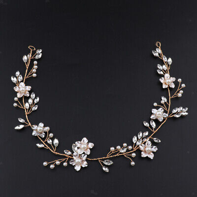 Wedding Bridal Vintage Flower Headband Headpiece Tiara Bride Hair Accessory