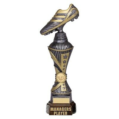 Striker Managers Player Antique Silver and Gold 340mm FREE Engraving