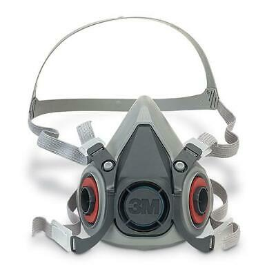 3M 6000 Series Half Mask Medium Grey Ref 3M6200M
