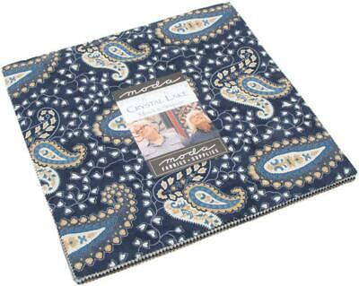 Crystal Lake Layer Cake, 42-10 inch Squares by Minick & Simpson