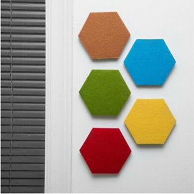 Multi Use Hexagon Wall Stickers Living Room Wall Sticker With Holder Hook B