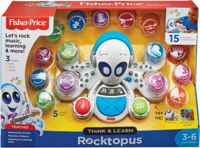 Preschool Fisher Price Think Learn Rocktopus Educational Interactive Toy NIB