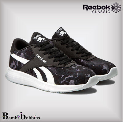d156de1ac8c524 Reebok Classic Royal EC Ride Camo Trainers UK Size 3 3.5 Girls Boys Ladies