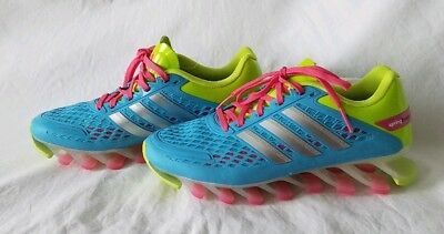 07c7199be44 Adidas Springblade Razor NEW Youth M21921 Teal Green Pink Running Shoes  Size 5.5