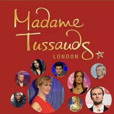 2 Tickets Madame Tussauds London For Friday 22nd March At 10.45am