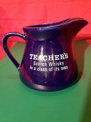 Vintage Water Jug Teachers Scotch Whiskey