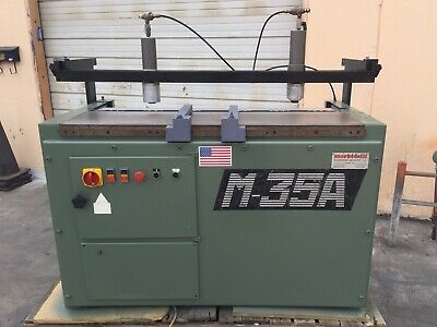 USED  Morbidelli M-35A   35 Spindle 32 mm  Construction Line Boring Machine