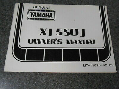YAMAHA OWNERS MANUAL w/ Wiring Diagram 1981 XS650 H XS650H LIT-11626 on