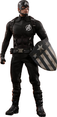 Captain America Concept Art Action Figure 1/6 Hot Toys Sideshow Exclusive MMS488