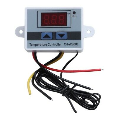 220V Digital LED Temperature Controller 10A Thermostat Control Switch Probe N CS