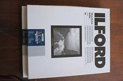 Ilford Multigrade IV RC De Lux Black and white paper pearl 8x10""