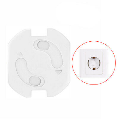 10 Child Safe Lock Socket w/ Mechanism EU Plug Protection Baby Toddlers
