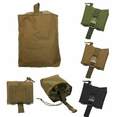 Hunting Foldable Storage Bag Nylon Tactical Utility Drop Dump Pouch Molle Belt