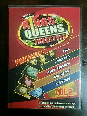 Freestyle DVD KINGS AND QUEENS Vol 2 TKA Cynthia Nayobe Lil Suzy Judy Torres