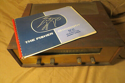 Fisher KM-60 Antique StrataKit with Manual