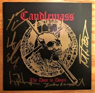 Candlemass - The Door To Doom Ltd. Ed. (Signed by all 5 band members) Tony Iommi