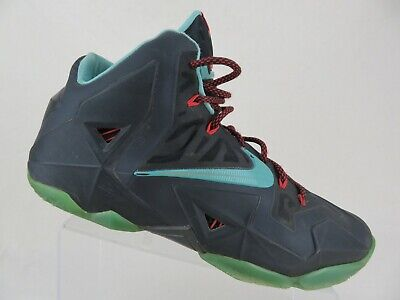043702f1eee NIKE LEBRON 11 XI Black Sz 13 Men South Beach Basketball Shoes ...