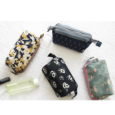 Women's Travel Cosmetic Bag Small Makeup Clutch Pouch Toiletry Organizer Bag