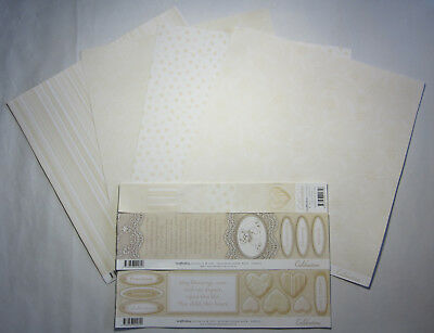 "Bulk 14 Scrapbooking Australia Honey Celebrations 12""x12"" Paper & Journal Blocks"
