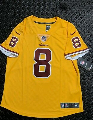 competitive price adfc4 3c485 NIKE WASHINGTON REDSKINS Kirk Cousins Color Rush Womens Medium Jersey Sewn  NWT