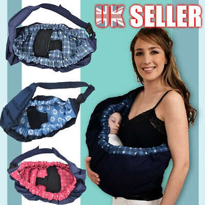 Toddler Cotton stretchy Newborn Infant Wrap Adjustable sling Carrier Baby