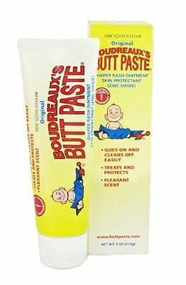 2 Pack Boudreaux`s Butt Paste With Peruvian Balsam For Healthy Skin 4oz Each