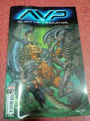 ALIENS VS PREDATOR 2/2 - FUMETTO n.17 SALDAPRESS COMICS ITALIANO - NUOVO
