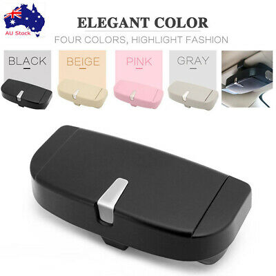 Universal Car Sunglasses Holder Glasses Case Storage Box For All Car AU