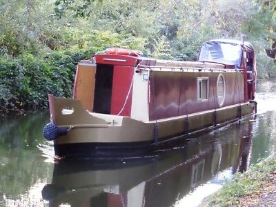 Narrow Boat Canal liveaboard Dutch Barge Houseboat  ECO ELECTRIC  Narrowboat  PX