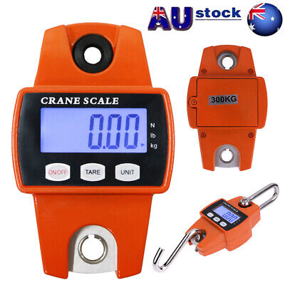Mini Crane Scale Portable LCD Digital Electronic Hook Hanging Weight 300kg Tool