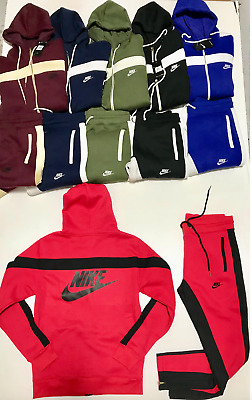 01ef205db0 Mens Nike Suit Complete Set Top And Bottom Hoodie Brand New Mens Sweat Suit