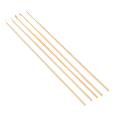 Handcraft 5Pcs Earwax Cleaning Spoon Ear Care Cleaner Natural Bamboo Earpick