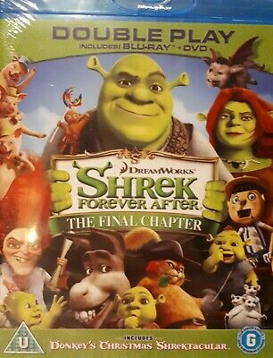 Shrek 4: Forever After - The Final Chapter Blu Ray - New & Sealed Region B (Aus)
