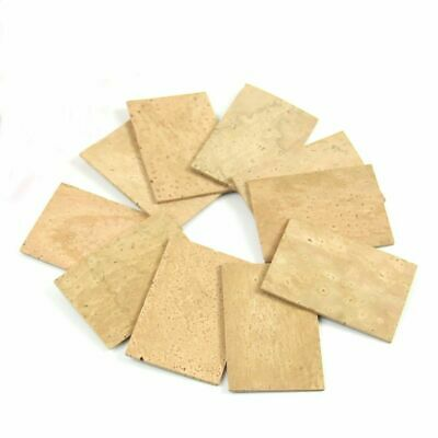 Soprano Tenor Sax Saxophone Clarinet Joint Natural Neck Cork Sheet Natural Kit