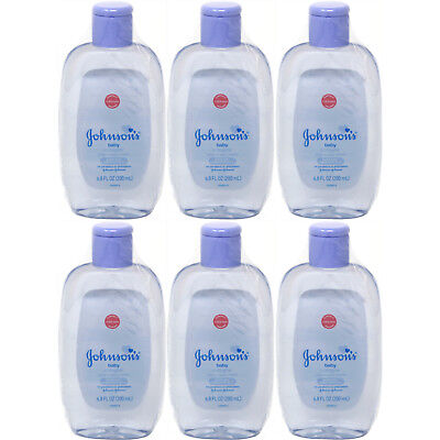 6 Pack JOHNSON'S Baby Cologne 6.80 oz Each
