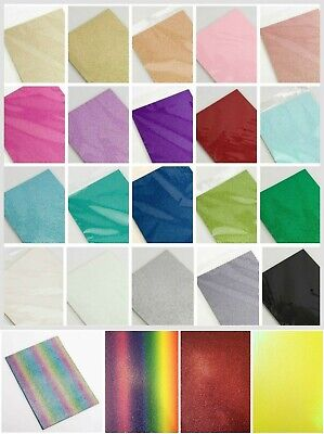 A4 Glitter Card Cardstock Premium Quality Low Shed 250gsm - 25 Colours + Mixed
