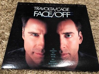 Face/Off Laserdisc