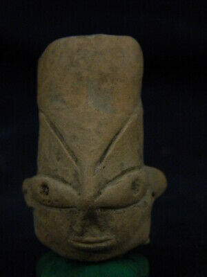 Ancient Teracotta Mother Goddess Head Indus Valley 800 BC #TR8029
