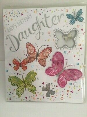 Daughter Birthday Card Fizz by Noel Tatt