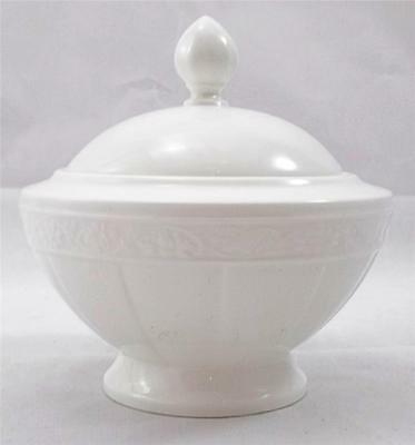 Villeroy & and Boch CAMEO WEISS sugar bowl with lid
